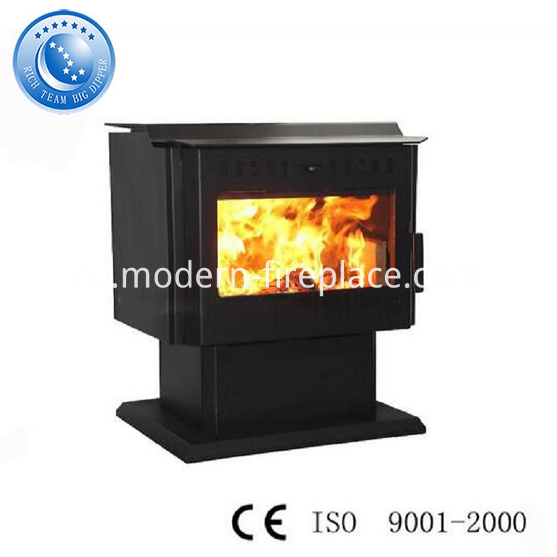 Wood Burning Steel Plate Fireplace China Popular