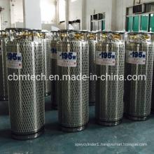 Liquid Oxygen/Argon/Nitrogen Cryogenic Dewar Cylinders