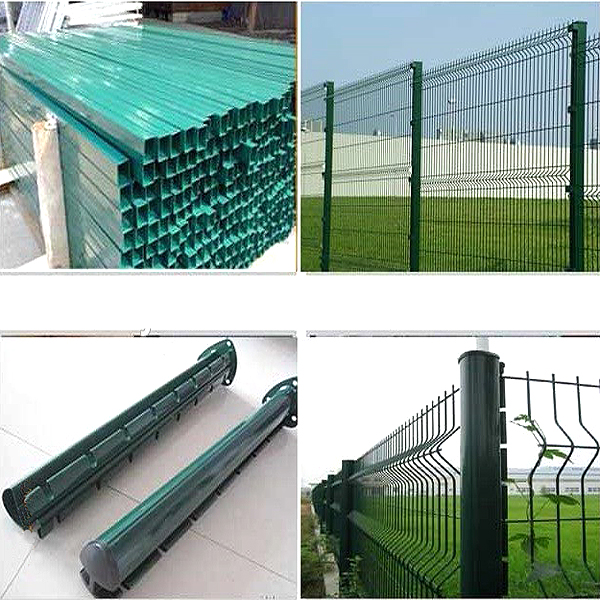 railway and high way welded fence