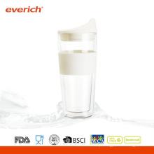 Copo De Copo De Café Resistente ao Calor de Alta Qualidade de 350ml com Silicone