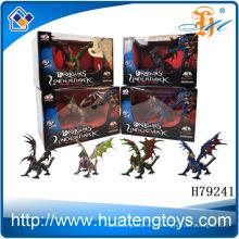 2014 La mayoría del montaje popular mini dragón plástico del vuelo del juguete para los cabritos