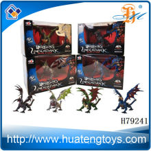 2014 Most Popular assembly plastic mini toy flying dragon for kids