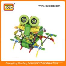 Série de robot LOZ Robots de construction électroniques Robot de robot B / O
