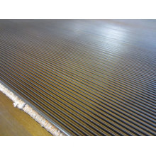 Fine Ribbed Rubber Floor