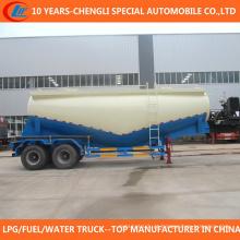 2 reboque do eixo 40cbm seco reboque de cimento em massa