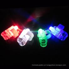 Atacado LED Partido Laser Finger Light