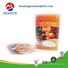 Alta qualidade Doypack Zipper Plastic Nuts Snack Bag