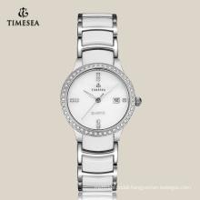 High Quality Woman Watch Steel Ladies′ Watch 71067