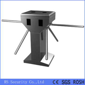 Vertical Double Lane Automatic Tripod Turnstile System
