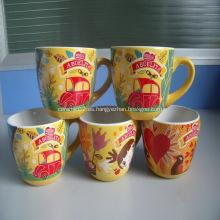 Tazas de cerámica promocional con C-Handle