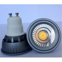 Dimmable 5W 220V 400lm COB LED GU10 Ampoule
