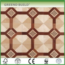 Maple parquet floor interior decoration