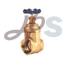 válvula de porta de bronze forjada