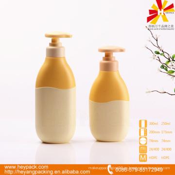 Botella de gel de ducha de plástico HDPE de 8oz