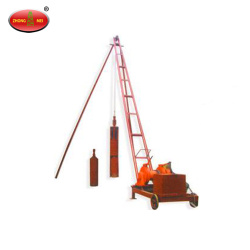 Homemade Electric Winch Screw Manual Foundation Pile Driver