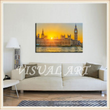 London View Giclee on Canvas Oil Paintings