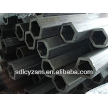 Perforated Hexagonal Hollow Steel Tubes Pipes