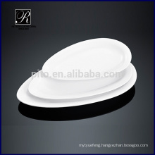 Ceramic plate dinner ware oval plate