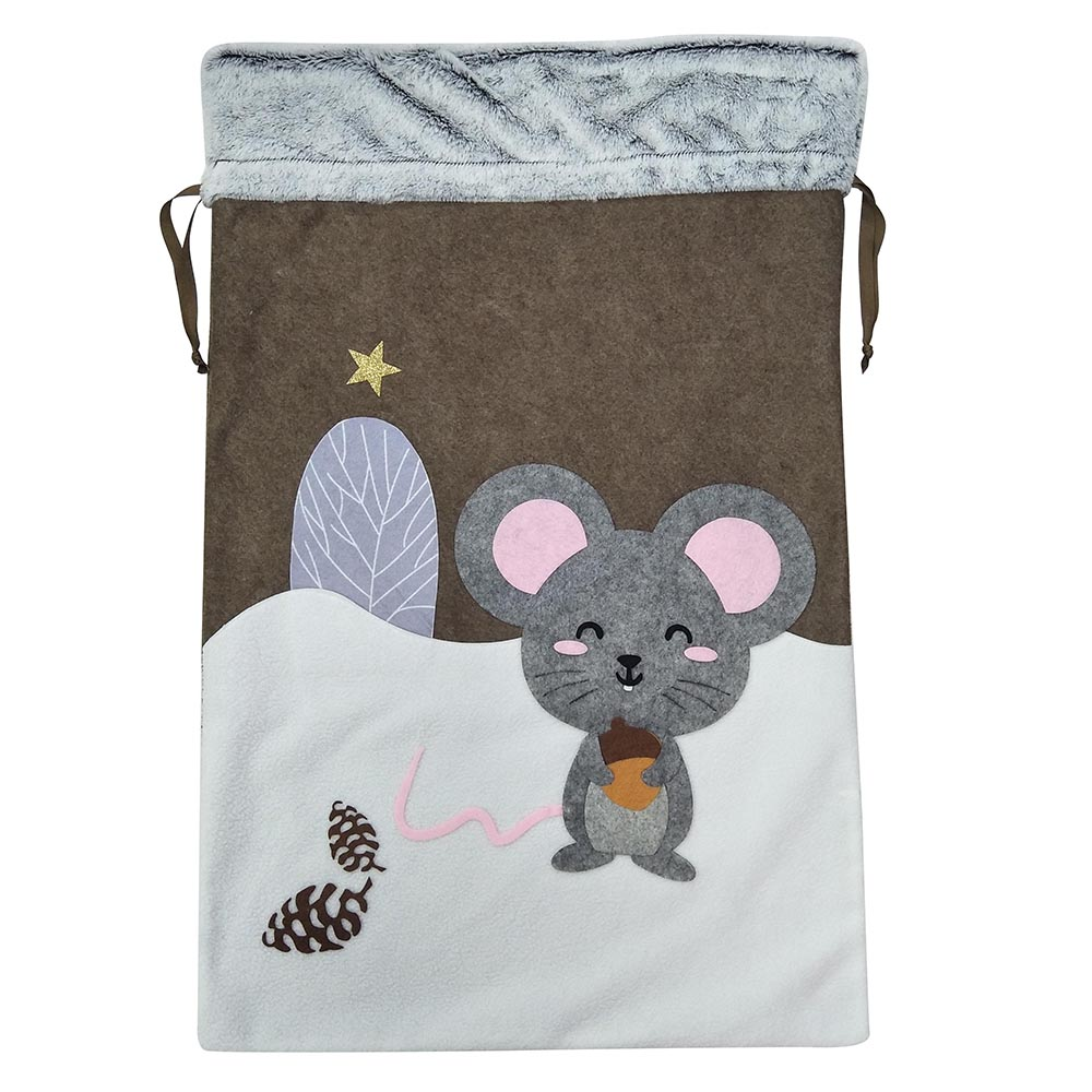 Mouse christmas sack