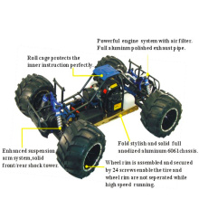 30cc Coche modelo de alta calidad 4WD coche remoto de gas hobby