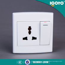 Igoto British Style D3062D / 1 Enchufe interruptor de pared eléctrico múltiple
