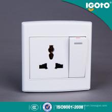 Tomada elétrica múltipla do interruptor da parede do estilo de Igoto D3062D / 1