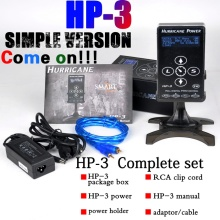 NEW HP-3 Hurricane® Samrt Touch Tattoo Power Supply