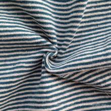 Конопляная / хлопчатобумажная пряжа окрашенная полоса Джерси (QF14-1462)