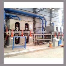Doble cara 4 pies y 6 pies máquina de lijado para MDF / panel de partículas / HPL / máquina de lijado de panel a base de madera