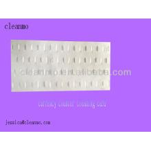 Tarjetas de limpieza de mostrador de moneda