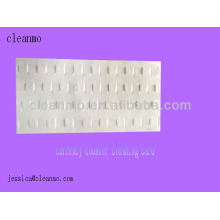 Cartes de nettoyage de comptoir de devise