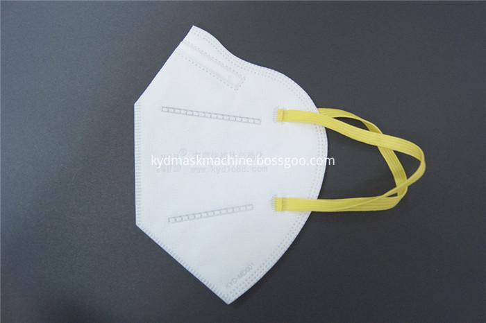 disposable folding mask machine