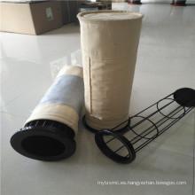 Fábrica de colector de polvo accesorio bolsa de filtro de hueso jaulas