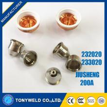 Chino 200A enfriamiento de agua jiusheng 233020 escudo de plasma de aire