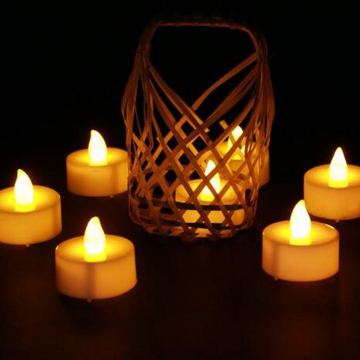 Events decoration LED tealight candle