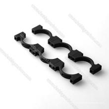 Support de fixation de tube en aluminium CNC