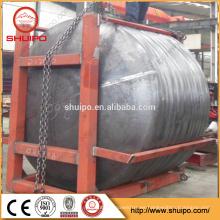 hecho en China cabezales de tanque de acero de alta calidad