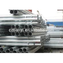 A53 tuyau en acier soudé galvanisé