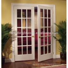 El diseño de puerta interior francés de madera más popular