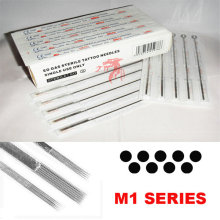 Disposable Sterilized Pre-Made Tattoo Needles Magnum Single Size
