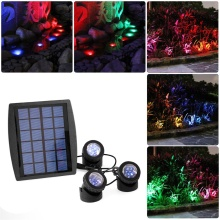 Best Quality for Waterproof Led Lights Waterproof Solar Underwater Lamp export to Spain Factories