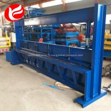 Cisailles hydrauliques CNC 4 mètres