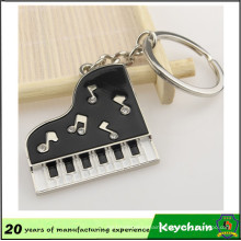 Metal Personalized Fashion Piano Keychain