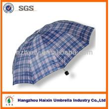 3 faltender großer Mann-Luft-Regenschirm für Verkauf