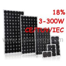 260W Solar Panel with Single Crystal Silicon/Monocrystalline Solar