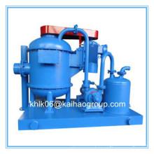 Desgasificador de vacío de barreno de perforación para un control sólido y sólido