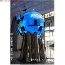 Indoor  P4 Sphere/Global /Ball LED Display (strech and contract )