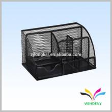 Factory manufacture office multipurpose metal mesh desk set gifts organizer