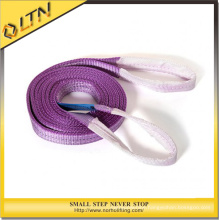 2ton Double Ply Polyester Flat Webbing Sling with Lifting Eyes