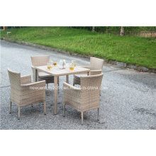 Outdoor Rattan Garden Wicker Dining Table and Chair